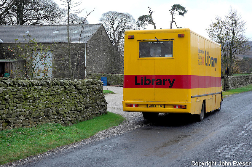 Mobile library, Lancashire.