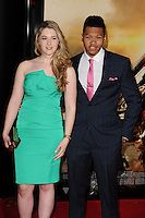 "Franz Drameh arriving for the World premiere of ""Edge of Tomorrow"" at the IMAX London, the first of three premieres around the world for the film in one day. 28/05/2014 Picture by: Steve Vas / Featureflash"