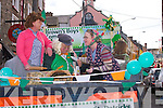 PARADE: Many of the floates and fancy dress and voulenteers who parade in the Killorglin St Patricks Day Parade on Sunday.