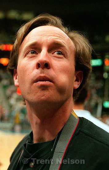 Gary MacKeller at the Utah Jazz vs Golden State Warriors.<br />