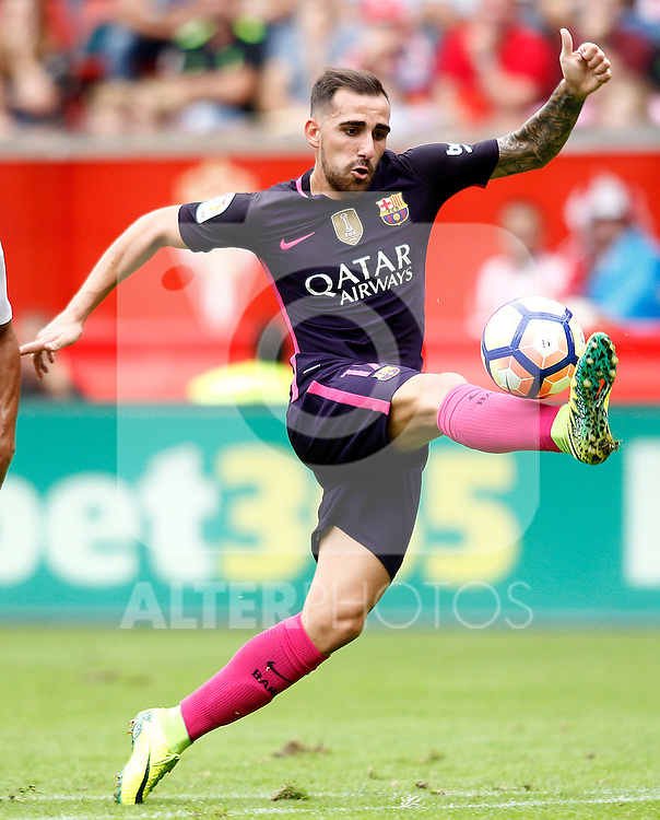 FC Barcelona's Paco Alcacer during La Liga match. September 24,2016. (ALTERPHOTOS/Acero)