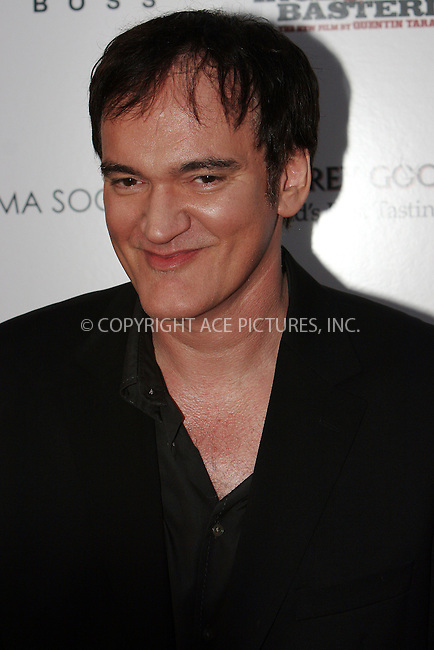 WWW.ACEPIXS.COM . . . . .  ....August 17 2009, New York City....Quentin Tarantino arriving at The Cinema Society & Hugo Boss screening of 'Inglourious Basterds' at the SVA Theater on August 17, 2009 in New York City.....Please byline: NANCY RIVERA- ACE PICTURES.... *** ***..Ace Pictures, Inc:  ..tel: (212) 243 8787 or (646) 769 0430..e-mail: info@acepixs.com..web: http://www.acepixs.com