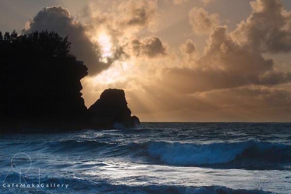 Foul Bay at dawn sunrise