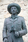 Statue of General Franco remaining, Melilla autonomous city state, north Africa, Spain