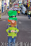 Benjamin Brosnan, Firies who was looking out for the Killorglin St Patrick's Day Parade on Sunday.