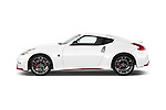Car Driver side profile view of a 2015 Nissan 370Z NISMO 2 Door Coupe Side View