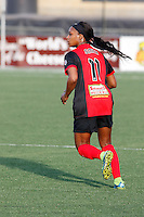 Rochester, NY - Friday May 27, 2016: Western New York Flash forward Taylor Smith (11). The Western New York Flash defeated the Boston Breakers 4-0 during a regular season National Women's Soccer League (NWSL) match at Rochester Rhinos Stadium.