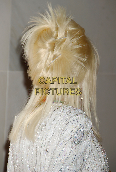 DOLLY PARTON.29th Annual Kennedy Center Honors - Arrivals .held at the John F. Kennedy Center for the .Performing Arts, Washington, D.C. USA,.03 December 2006..headshot portrait hair back of head.CAP/ADM/LF.©Laura Farr/Admedia/Capital Pictures