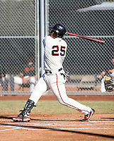 Hector Sanchez / San Francisco Giants 2008 Instructional League..Photo by:  Bill Mitchell/Four Seam Images