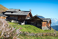 Cabane d'Essertze, the first overnight of the Via Valais, a multi-day trail running tour connecting Verbier with Zermatt, Switzerland.
