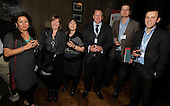 drinks reception, Oil and Gas Decommissioning Conference, Dunblane Hydro - l to r - Catherine Morgan, Pam MacKintosh, Sarah Esson, Jamie Stewart, Kris Frampton, Oystein Kanestroom - 6.10.10 - picture by Donald MacLeod - mobile 07702 319 738 - clanmacleod@btinternet.com - www.donald-macleod.com