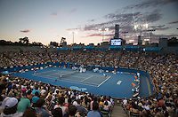 Ambience..Tennis - Australian Open - Grand Slam -  Melbourne Park  2013 -  Melbourne - Australia - Thursday 17th January  2013. .© AMN Images, 30, Cleveland Street, London, W1T 4JD.Tel - +44 20 7907 6387.mfrey@advantagemedianet.com.www.amnimages.photoshelter.com.www.advantagemedianet.com.www.tennishead.net