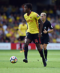 Nathaniel Chalobah of Watford during the premier league match at the Vicarage Road Stadium, Watford. Picture date 26th August 2017. Picture credit should read: Robin Parker/Sportimage