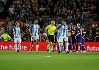 2017.10.21 La Liga FC Barcelona VS Malaga CF