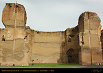 Baths of Caracalla Laconicum Turkish Bath Aventine Hill Rome