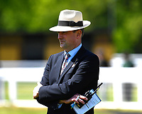 Clerk of the course at Salisbury Racecourse Jeremy Martin during Afternoon Racing at Salisbury Racecourse on 17th May 2018