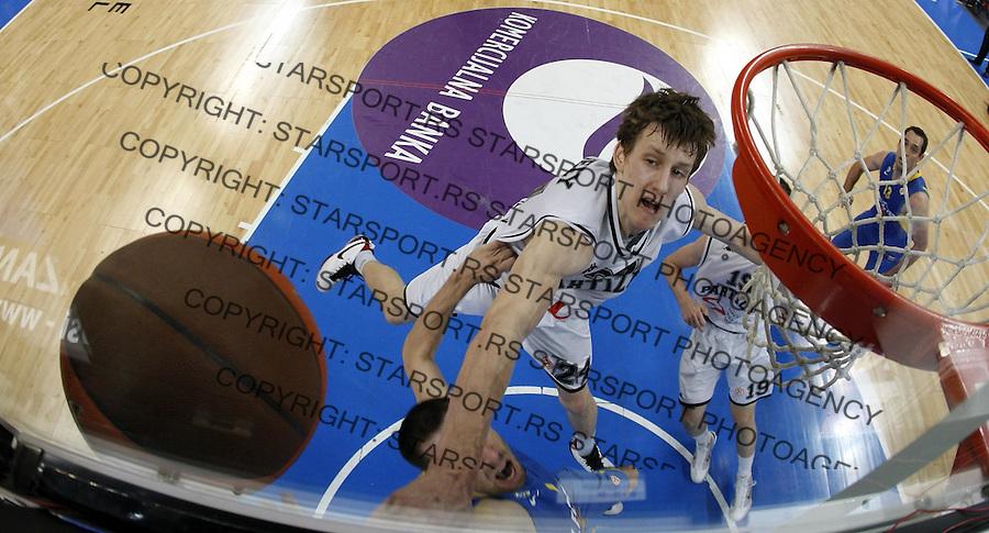 Jan Vesely Veseli Remote Sport Basketball Kosarka Partizan Makabi Maccabi Euroleague Evroliga Beogradska Arena Beograd Srbija 30.3.2010. photo: Pedja Milosavljevic / +381 64 1260 959 / thepedja@gmail.com / STARSPORT|