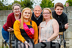 Jennifer White of St Brendan's Park celebrates her 21st birthday at home with her family on Saturday last.<br /> Seated: Jennifer and mom Kathleen.<br /> Back l to r: Alex, dad Paddy and Thomas
