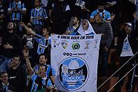 SÃO PAULO, SP,  27.08.2019 - PALMEIRAS-GRÊMIO – Torcida do Grêmio durante partida contra o Palmeiras, jogo válido pelas quartas de final da Copa Libertadores da América 2019, disputada no estádio do Pacaembu em São Paulo, nesta terça-feira, 27. (Foto: Levi Bianco/Brazil Photo Press)