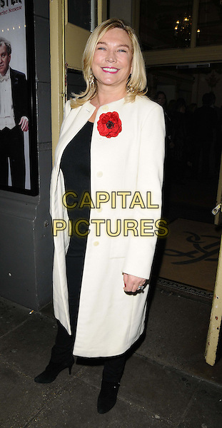 LONDON, ENGLAND - NOVEMBER 12: Amanda Redman attends the &quot;Perfect Nonsense&quot; press night performance, Duke of York's Theatre, November 12, 2013 in London, England, UK.<br /> CAP/CAN<br /> &copy;Can Nguyen/Capital Pictures