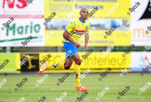2014-07-02 / Voetbal / seizoen 2014-2015 / KVC Westerlo / Fr&eacute;d&eacute;ric Gounongbe<br /><br />Foto: mpics.be