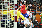 handball wordl cup match between Spain vs Tunisia. albert rocas . 2015/01/25. Doha. Qatar. Alberto de Isidro.Photocall 3000