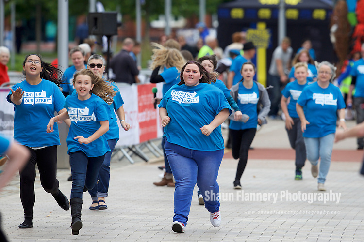 Pix: Shaun Flannery/shaunflanneryphotography.com<br /> <br /> COPYRIGHT PICTURE&gt;&gt;SHAUN FLANNERY&gt;01302-570814&gt;&gt;07778315553&gt;&gt;<br /> <br /> 19th June 2016<br /> Doncaster Cycle Festival 2016<br /> <br /> The Great Big Donco