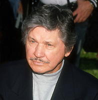 Charles Bronson, 1989, Photo By John Barrett/PHOTOlink