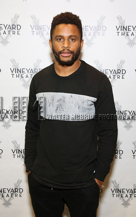 """Nnamdi Asomugha attends the Cast photo call for the Vineyard Theatre production of """"Good Gfief"""" on September 12, 2018 at the Vineyard Theatre in New York City."""