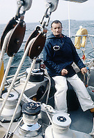 Éric Tabarly sur Paul Ricard, 1981
