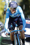 Alejandro Valverde (ESP) Movistar Team in action during Stage 10 of La Vuelta 2019 an individual time trial running 36.2km from Jurancon to Pau, France. 3rd September 2019.<br /> Picture: Luis Angel Gomez/Photogomezsport | Cyclefile<br /> <br /> All photos usage must carry mandatory copyright credit (© Cyclefile | Luis Angel Gomez/Photogomezsport)
