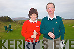 Waterville Captains for 2012 Helen Coffey & Pat Everett pictured here at their Drive In on Sunday last.