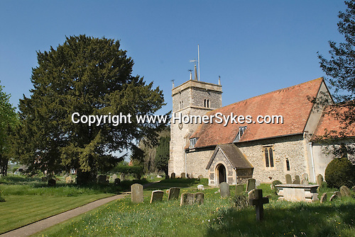 Bucklebury Berkshire UK. Church of St Mary the Virgin.  Kate Middleton family village.