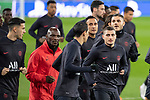 PSG's Players Marco Berratti, Keylor Navas and Mauro Icardi during training session. <br /> November 25 ,2019.<br /> (ALTERPHOTOS/David Jar)