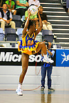 Commonwealth Games 2006 Netball, St Vincent & Grenedines v New Zealand. SVG had the bulk of the crowed support during the the contest against the current World Champions.<br /> Photo: Grant Treeby