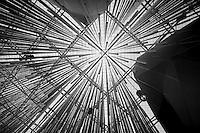 Cantieri dell'Expo2015 a Milano, ad un mese dall'inaugurazione