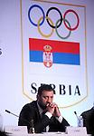 OLIMPIJSKI KOMITET, BEOGRAD, 27. Nov. 2010. -  Predsednik Olimpijskog komiteta Srbije Vlade Divac. 39. Generalna skupstina Evropskih olimpijskih komiteta (EOK) koja je odrzana u Beogradu. Foto: Nenad Negovanovic