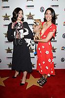 LOS ANGELES - FEB 29:  Justine Marino, Jade Catta-Preta at the Beverly Hills Dog Show Presented by Purina at the LA County Fairplex on February 29, 2020 in Pomona, CA