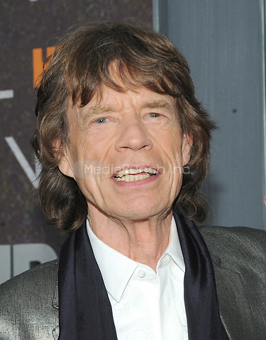 NEW YORK, NY - January 15: Mick Jagger attends the 'Vinyl' New York premiere at Ziegfeld Theatre on January 15, 2016 in New York City.   Credit: John Palmer/MediaPunch