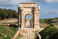 Leptis Magna, Libya - Arch of Septimus Severus, A.D. 203