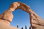 U.S.A., Southwest America, Utah, Arches National Park, Delicate Arch,