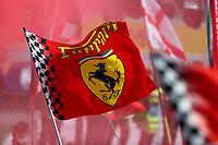 Ferrari flag  <br /> talian GP, Monza 2019, Monza 5-8 September 2019<br /> Monza 08/09/2019 GP Italia <br /> Formula 1 Championship 2019 <br /> Photo Federico Basile / Insidefoto