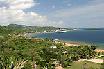 This view is of Coxen Hole on the Island of Roatan, Honduras.