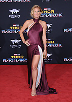 10 October  2017 - Hollywood, California - Zoe Bell. World Premiere of &quot;Thor: Ragnarok&quot; held at The El Capitan Theater in Hollywood. <br /> CAP/ADM/BT<br /> &copy;BT/ADM/Capital Pictures