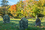 Fall foliage in Sandwich, Cape Cod, Massachusetts, USA