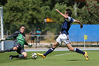 Ryan Hardie of Scotland just fails to make contact with the ball during Czech Republic Under-20 vs Scotland Under-20, Toulon Tournament Football at Stade de Lattre-de-Tassigny on 10th June 2017