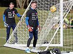 15.03.2019 Rangers training: Allan McGregor