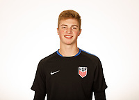 USMNT U-19 Portraits, January 4, 2018
