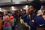 2018 Orientation. Photo by Thomas Graning/Ole Miss Communications