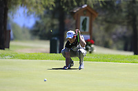 Danny Willett (ENG) on the 5th green during Saturday's Round 3 of the 2018 Omega European Masters, held at the Golf Club Crans-Sur-Sierre, Crans Montana, Switzerland. 8th September 2018.<br /> Picture: Eoin Clarke | Golffile<br /> <br /> <br /> All photos usage must carry mandatory copyright credit (&copy; Golffile | Eoin Clarke)